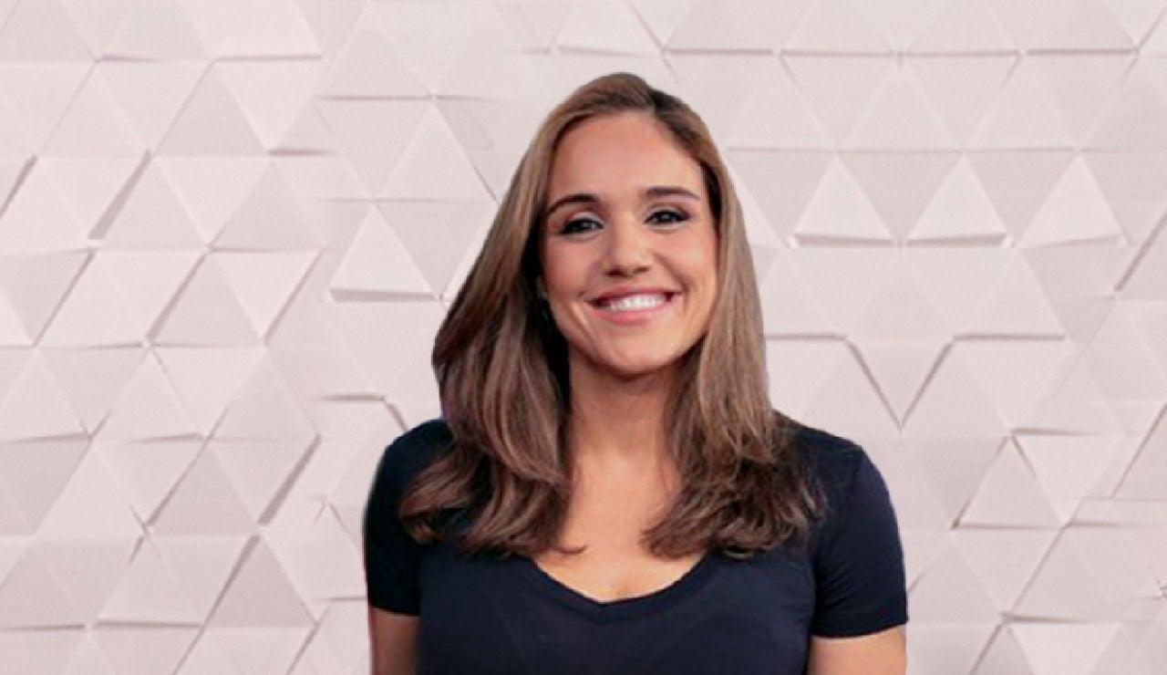 Marina Monzón, presentadora de Antena 3 Noticias
