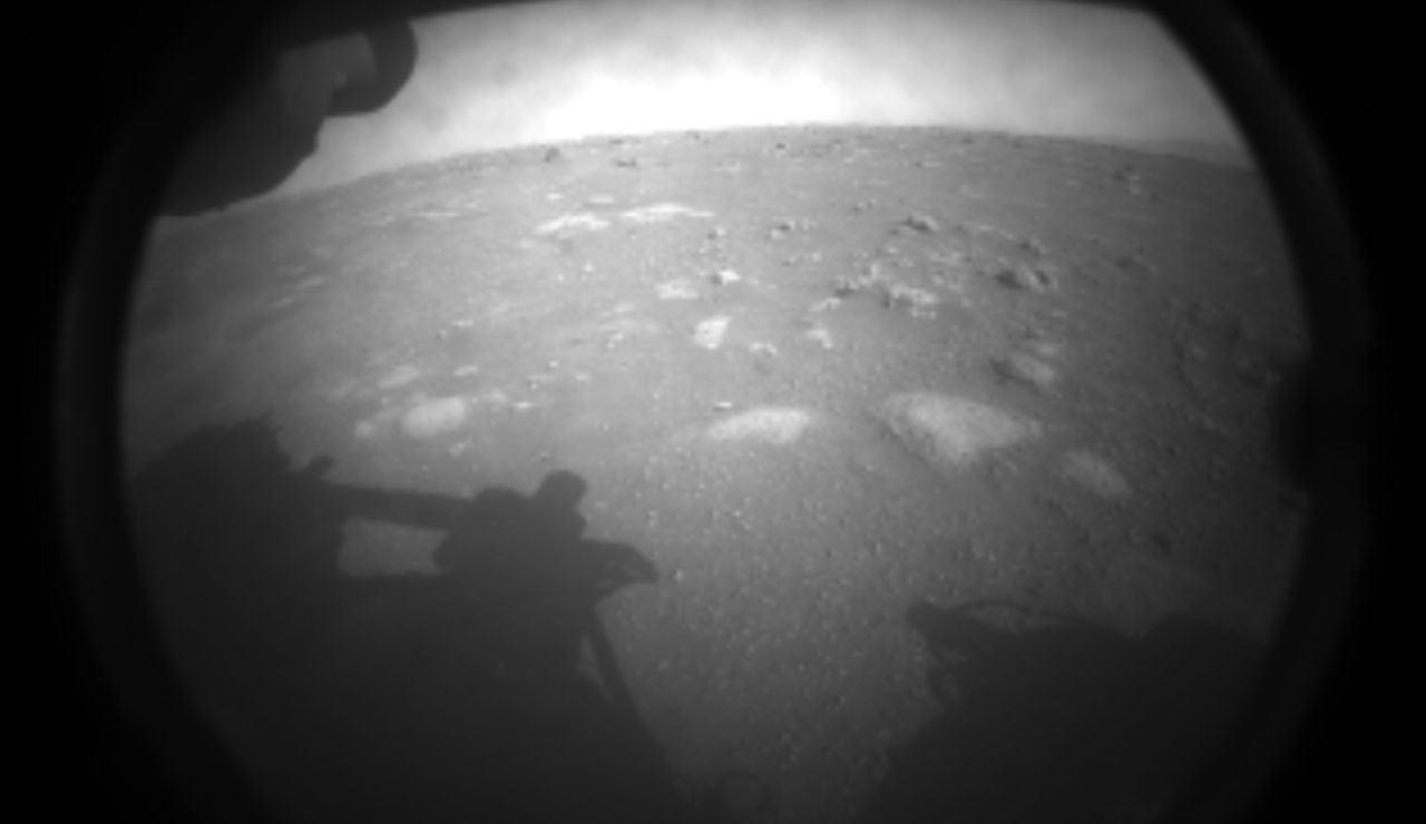 Foto de Perseverance en Marte