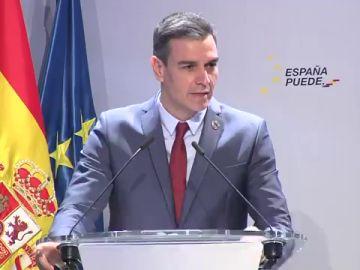 """Pedro Sánchez se pronuncia por primera vez tras las protestas por Pablo Hasél: """"La democracia nunca jamás ampara la violencia"""""""