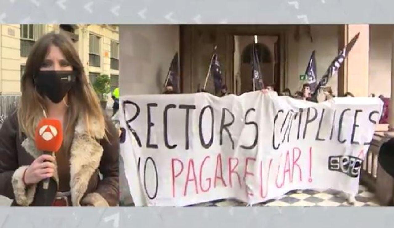 Críticas al rectorado Universidad Lleida
