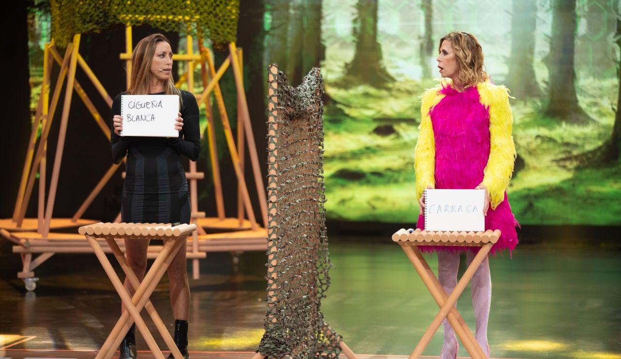 Desafío Gemma Mengual y Ágatha Ruiz de la Prada