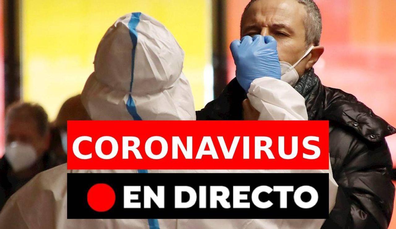Coronavirus España hoy: restricciones en Madrid, Castilla y León, Cataluña y Andalucía y última hora de la vacuna en España, en directo