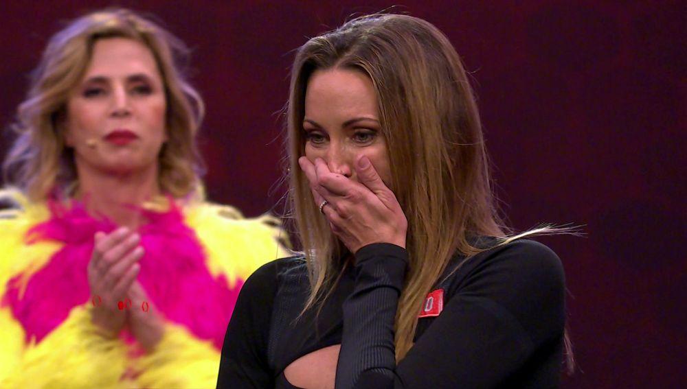 """La emoción de Gemma Mengual tras los tres dieces del jurado: """"Se lo dedico a mi chico"""""""
