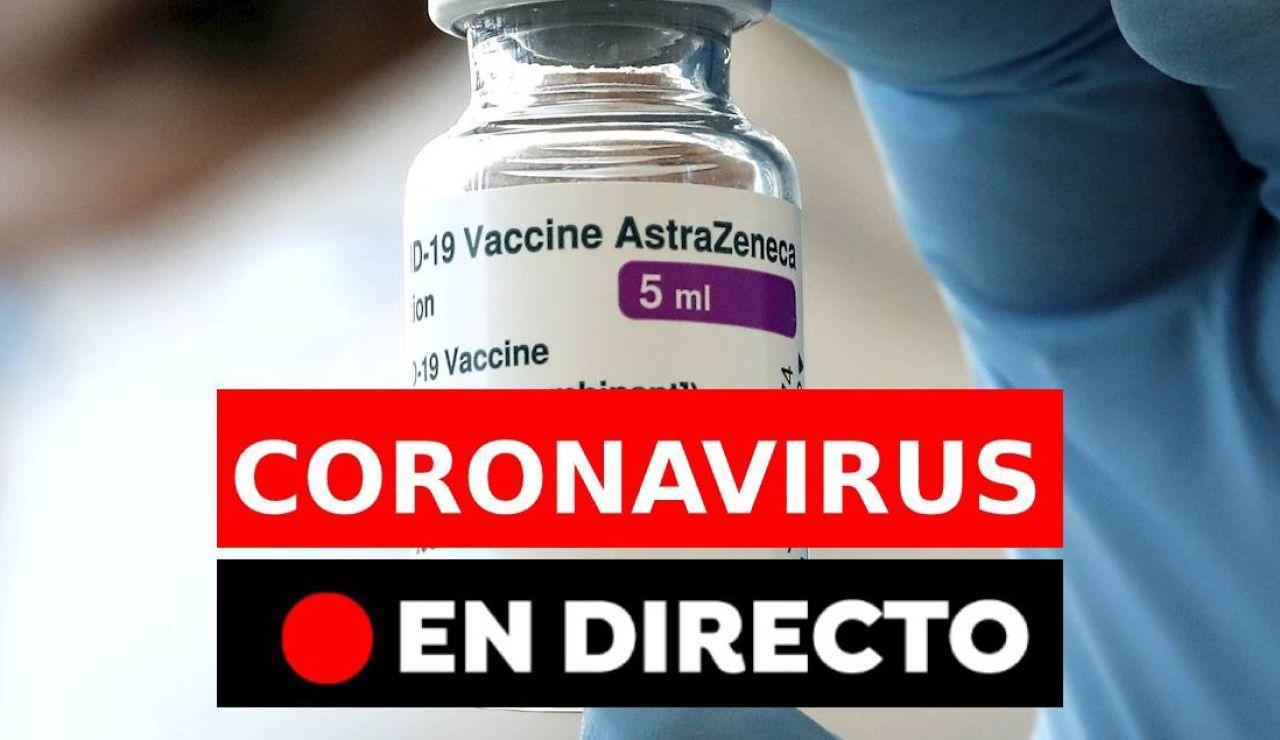 Coronavirus en España hoy: Nuevas restricciones, vacuna y datos de contagiados y fallecidos, en directo