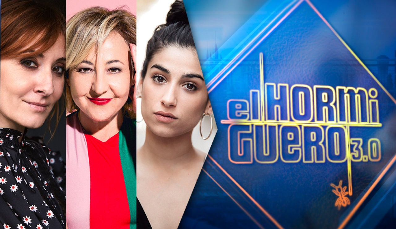 El martes, las actrices Carmen Machi, Nathalie Poza y Carolina Yuste visitan 'El Hormiguero 3.0'