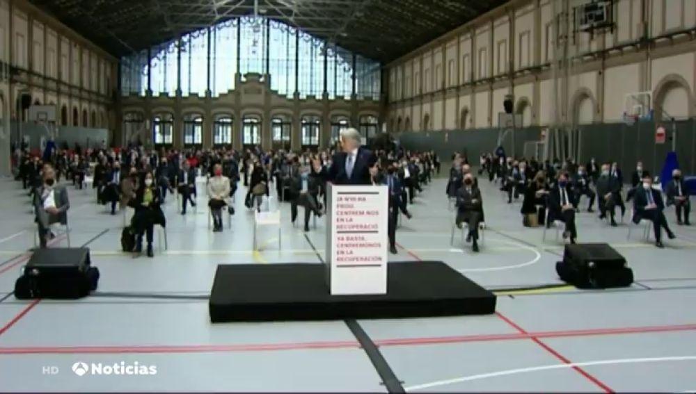 """Cerca de 300 asociaciones de empresarios catalanes piden el fin de la violencia en las calles de Barcelona y otras ciudades: """"Basta ya, centrémonos en la recuperación"""""""