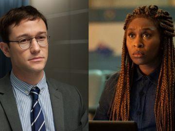 Joseph Gordon-Levitt en 'Snowden' y Cynthia Erivo en 'El Visitante'