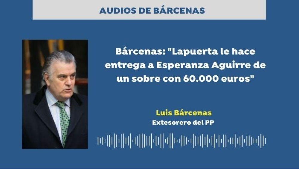 Los audios de Bárcenas sobre la 'Púnica'.