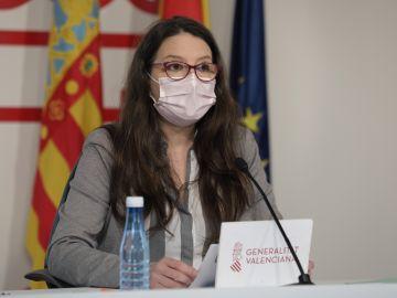 Mónica Oltra pleno del Consell