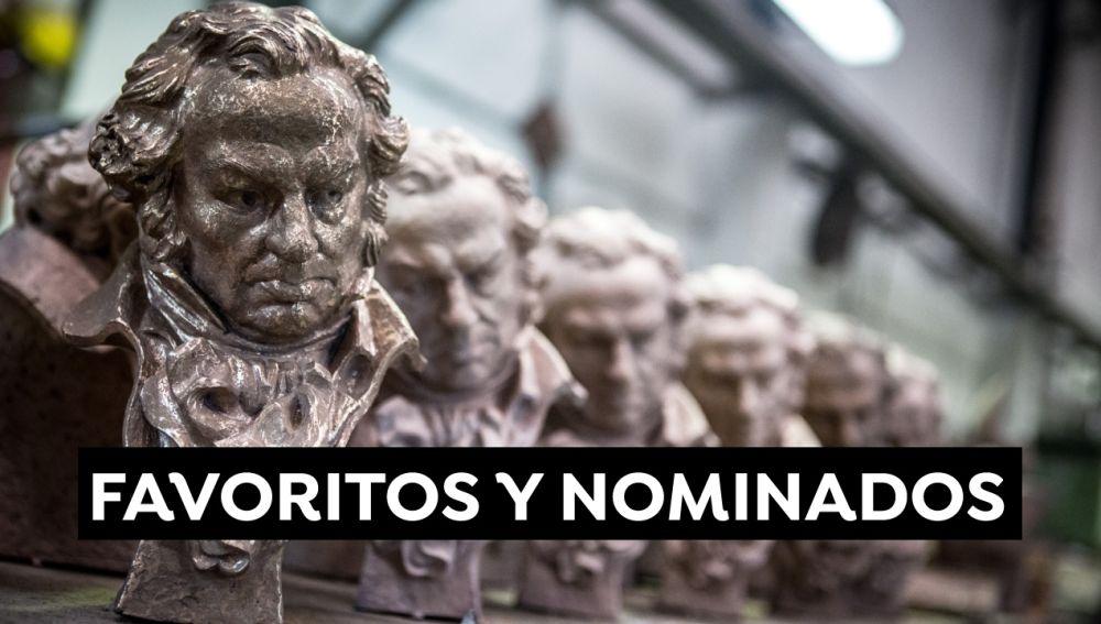 Premios Goya 2021: Los favoritos y todos los nominados que podrían convertirse en ganadores