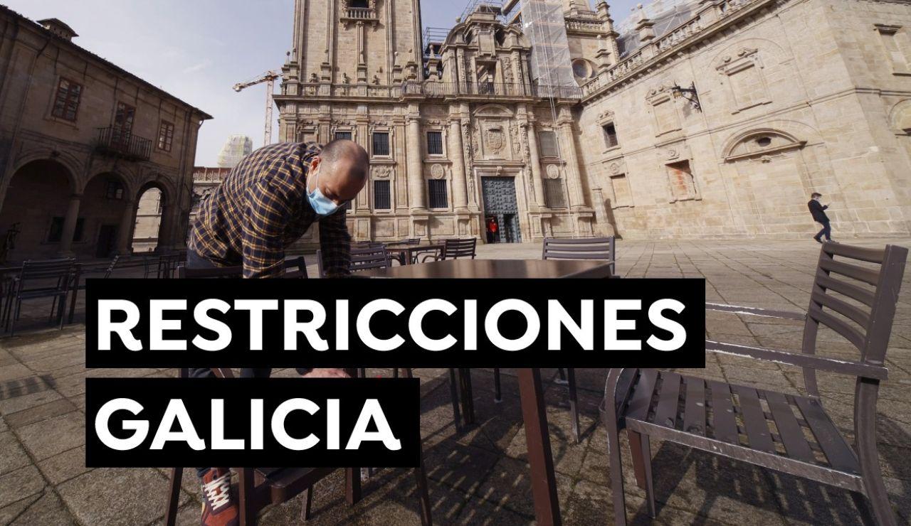 Nuevas restricciones en Galicia y medidas por municipios a partir de hoy