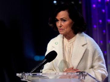 """Carmen Calvo, sobre la prohibición del 8-M en Madrid: """"Hay una pandemia con unos datos particularmente no buenos"""""""