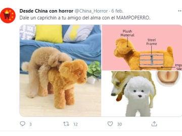 Tuit de @china_horror