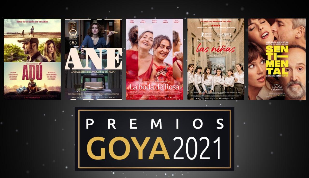 Premios Goya 2021: Orden de entrega de los galardones