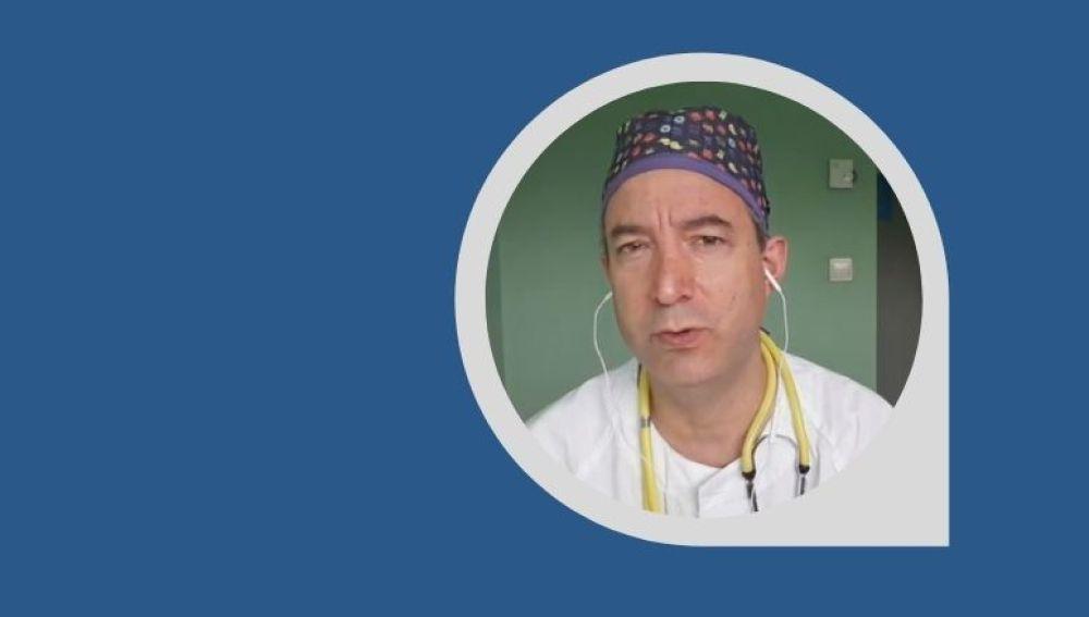 César Carballo, médico de Urgencias