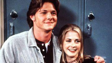 Harvey y Sabrina en 'Sabrina, cosas de brujas'