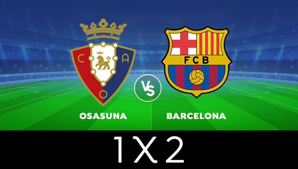 VOTA ¿Quién ganará el Osasuna - Barcelona de Liga Santander?