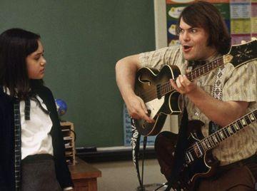 Rivkah Reyes y Jack Black en 'Escuela de Rock'