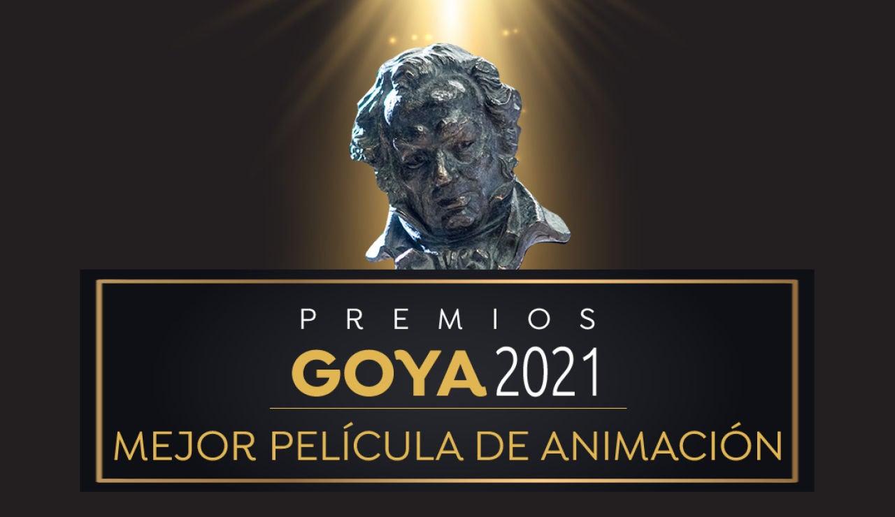 Premios Goya 2021: Mejor película de animación