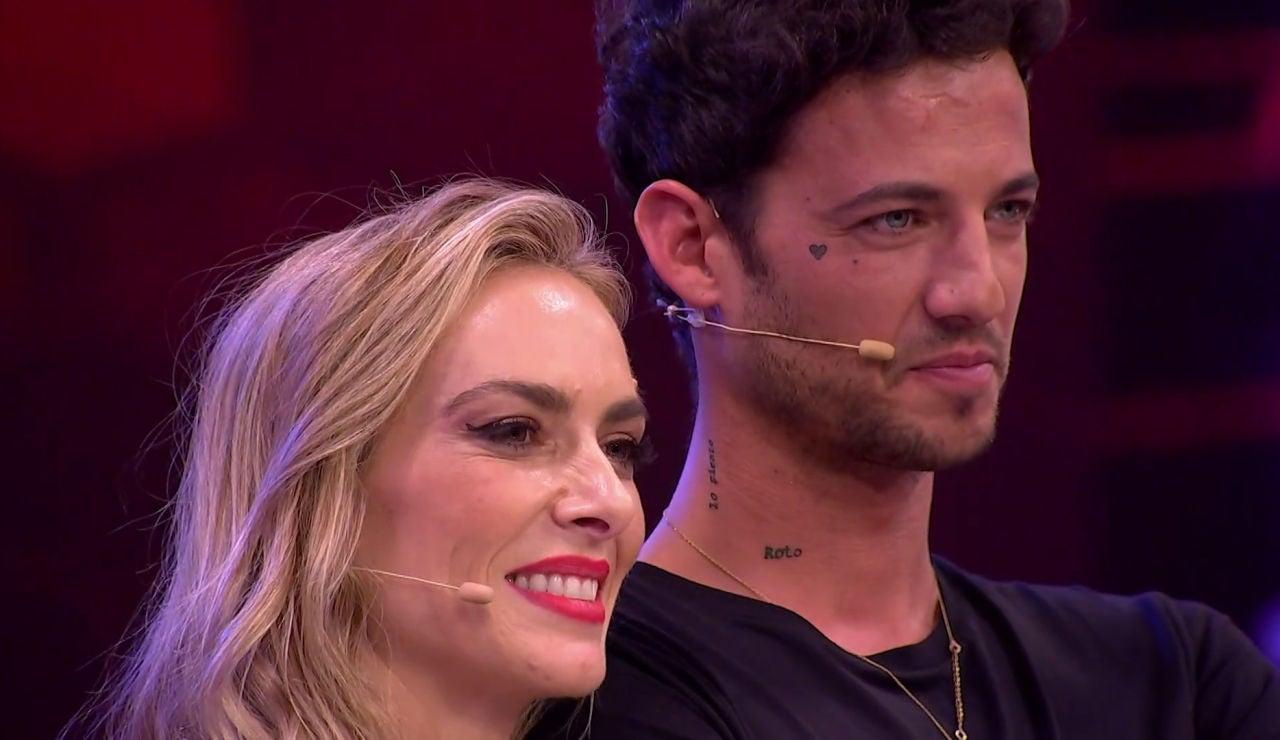 El beso de Kira Miró y Jorge Brazález en el momento final
