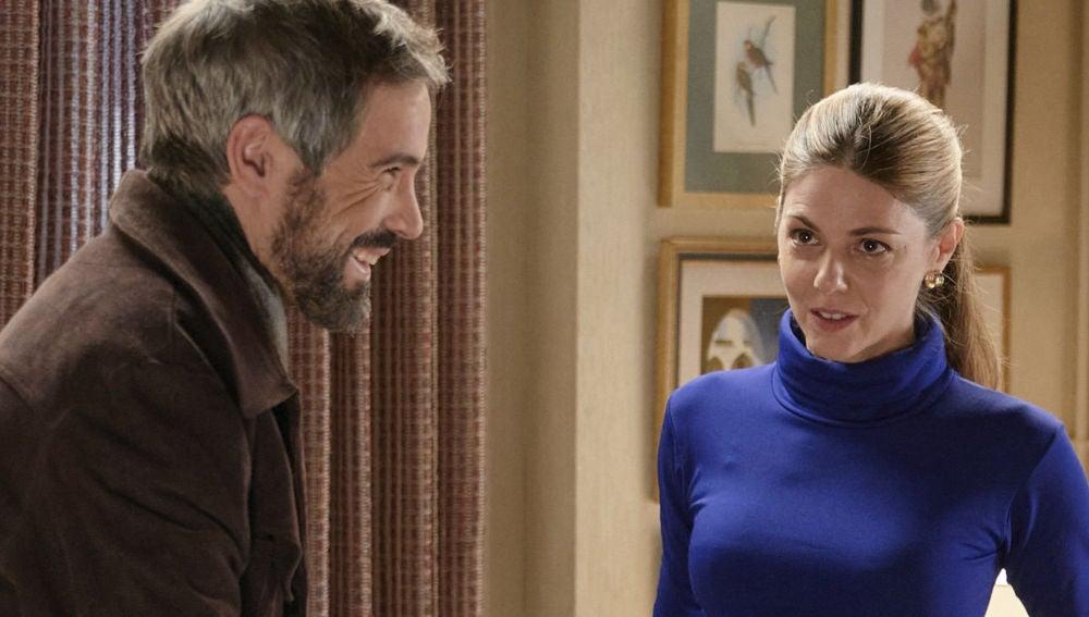 Risas y complicidad entre los protagonistas de 'Amar es para siempre'