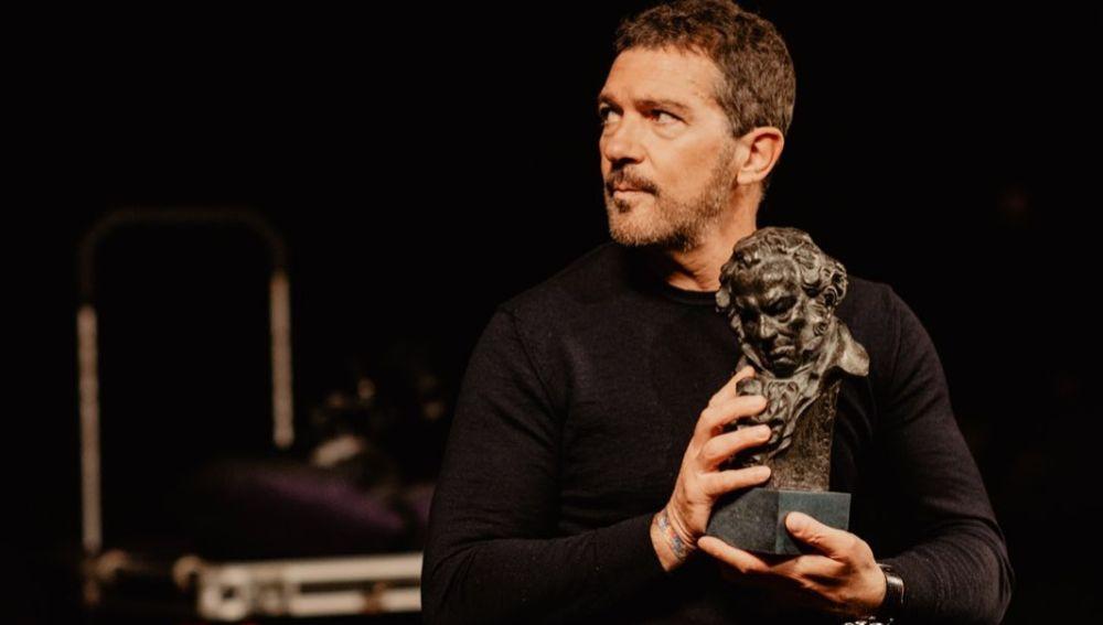 Antonio Banderas en los Premios Goya 2021