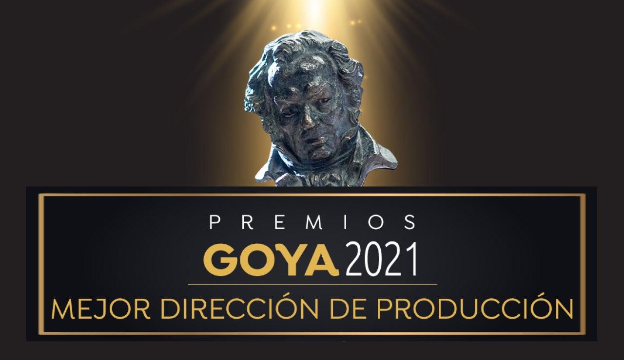 Premios Goya 2021: Mejor dirección de producción