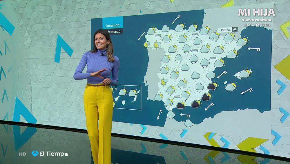 Tu Tiempo (06-03-21) Importantes inundaciones en Ceuta, en alerta por fuertes lluvias