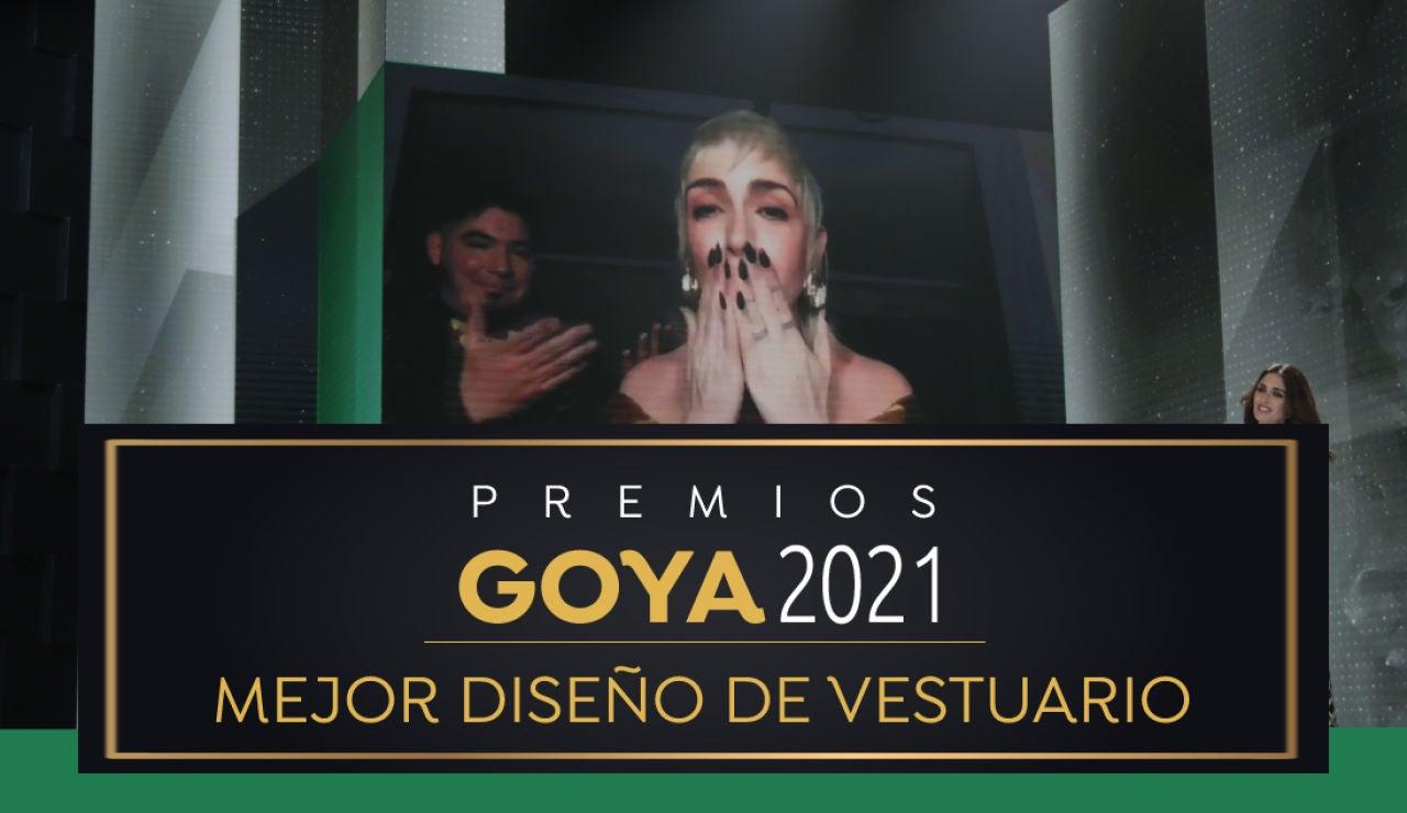 Premios Goya 2021: Nerea Torrijos, mejor diseño de vestuario por 'Akelarre'