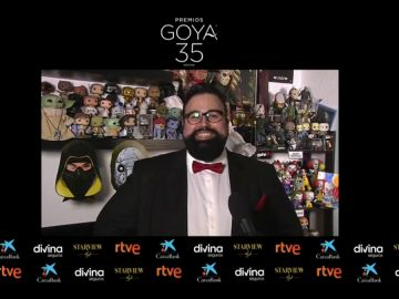 David Galán Galindo, nominado a Mejor guion adaptado en los Premios Goya 2021
