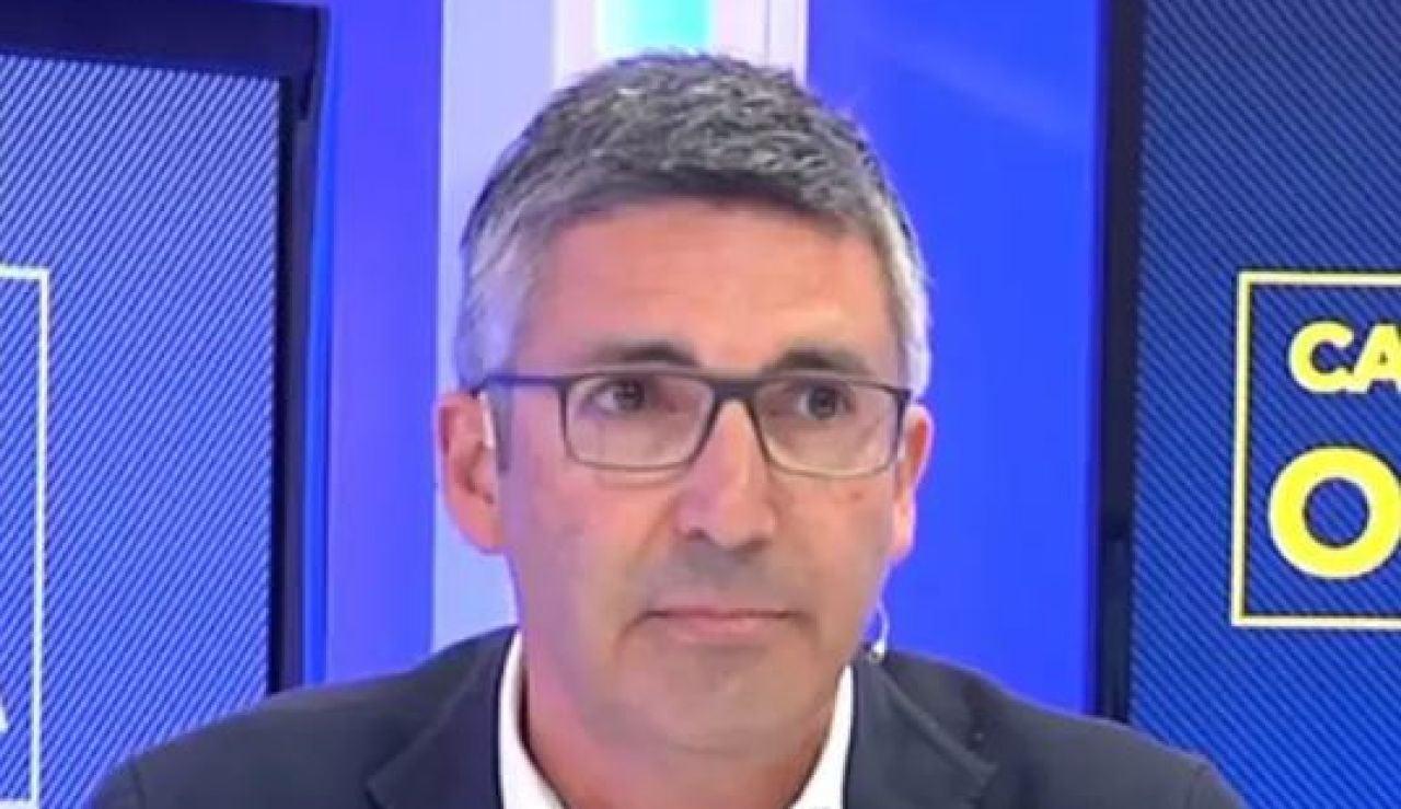 El vicesecretario de comunicación del PPC, Albert Fernández Saltiveri,