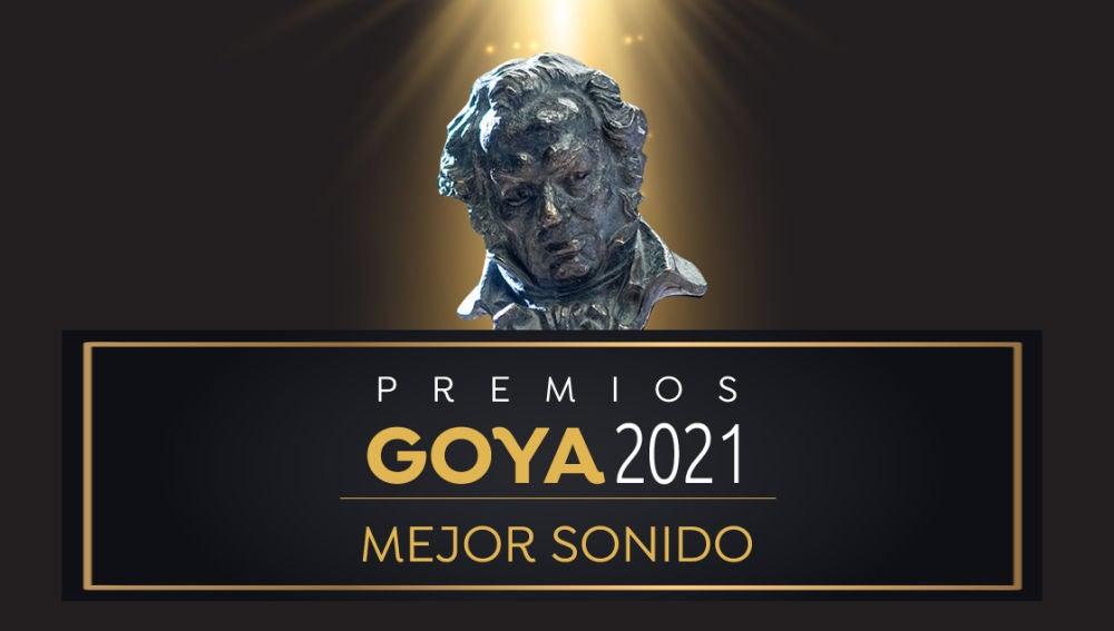 Premios Goya 2021: Mejor sonido