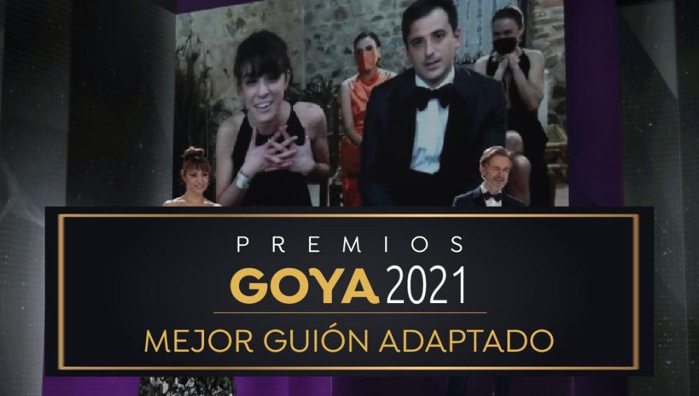 Premios Goya 2021: David Pérez Sañudo y Marina Parés Pulido, mejor guion adaptado por 'Ane'