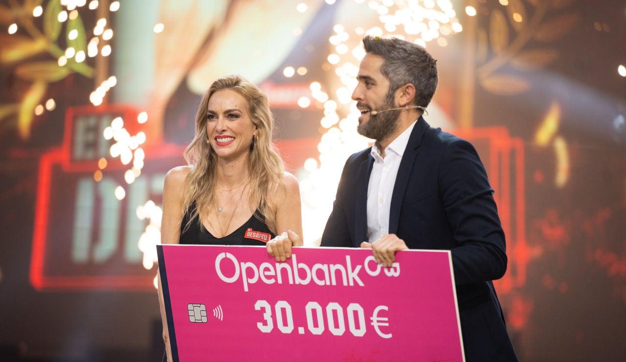 """Kira Miró, ganadora de 'El Desafío' entre lágrimas: """"Gracias a todos"""""""