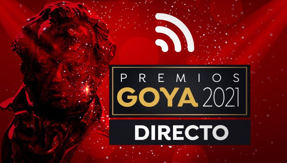 Alfombra roja y la gala de los Premios Goya 2021 en directo