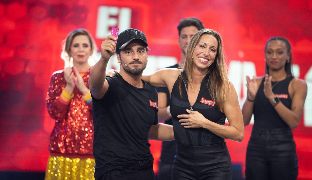 Gemma Mengual cede su premio a un emocionado David Bustamante