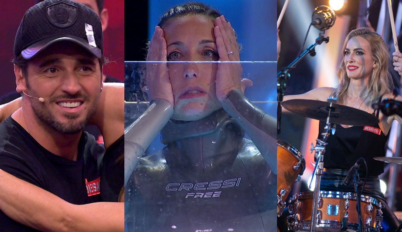 Así ha sido la final de 'El Desafío': El triunfo de Kira Miró, las lágrimas de David Bustamante y la gesta de Gemma Mengual