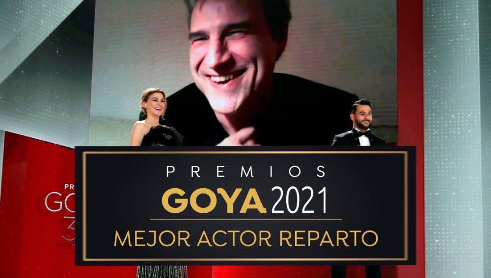 Premios Goya 2021: Alberto San Juan, mejor actor de reparto por 'Sentimental'