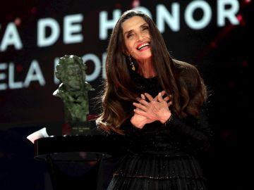 El discurso de Ángela Molina, Goya de Honor en la gala de los premios Goya 2021
