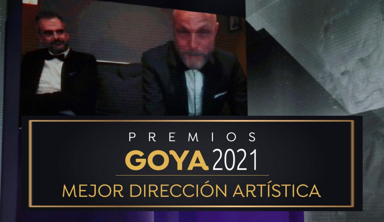 Premios Goya 2021: Mikel Serrano, mejor dirección artística por 'Akelarre'