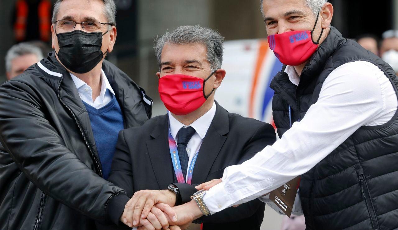 Joan Laporta gana las elecciones al Barcelona FC