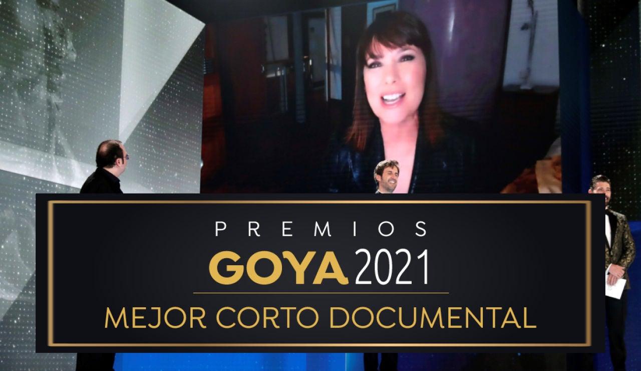 Premios Goya 2021: 'Biografía del cadáver de una mujer' de Mabel Lozano, mejor corto documental