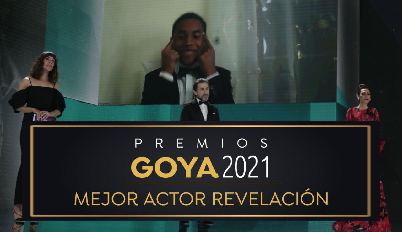 Premios Goya 2021: Adam Nourou, mejor actor revelación por 'Adú'
