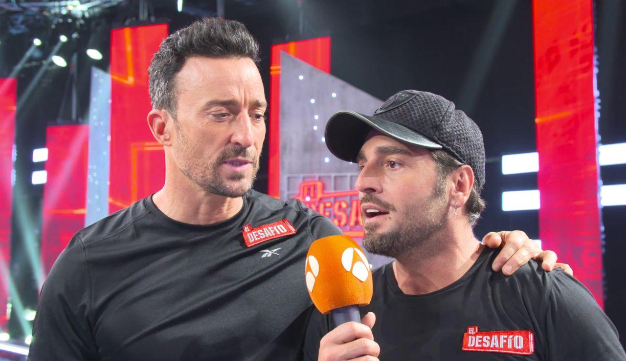 Los 'hermanos' David Bustamante y Pablo Puyol despiden la temporada