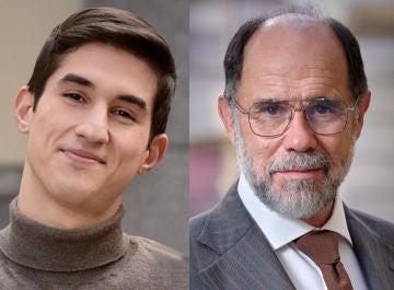 Mario García y Joaquín Notario, Tito y Miguel en 'Amar es para siempre'