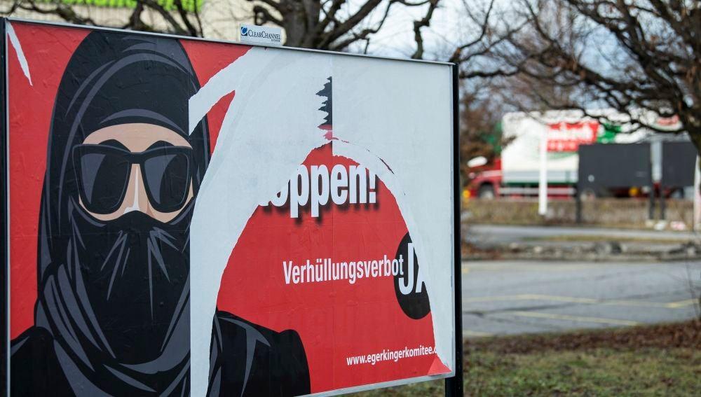 Suiza prohíbe vía referéndum el uso del burka