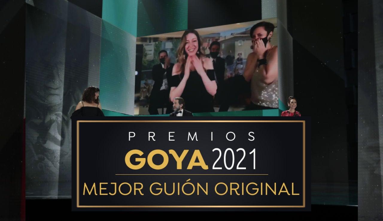 Premios Goya 2021: Pilar Palomero, mejor guion original por 'Las niñas'