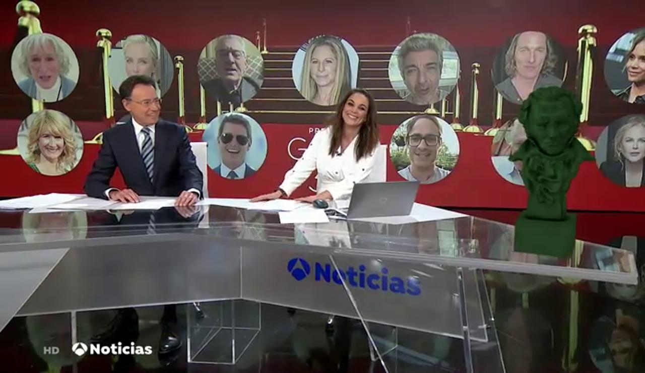 """La confesión entre risas de Matías Prats sobre los Premios Goya: """"No he pasado nunca de extra en este mundo"""""""