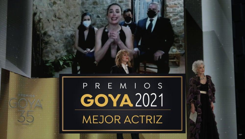 Premios Goya 2021: Patricia López, mejor actriz protagonista por 'Ane'
