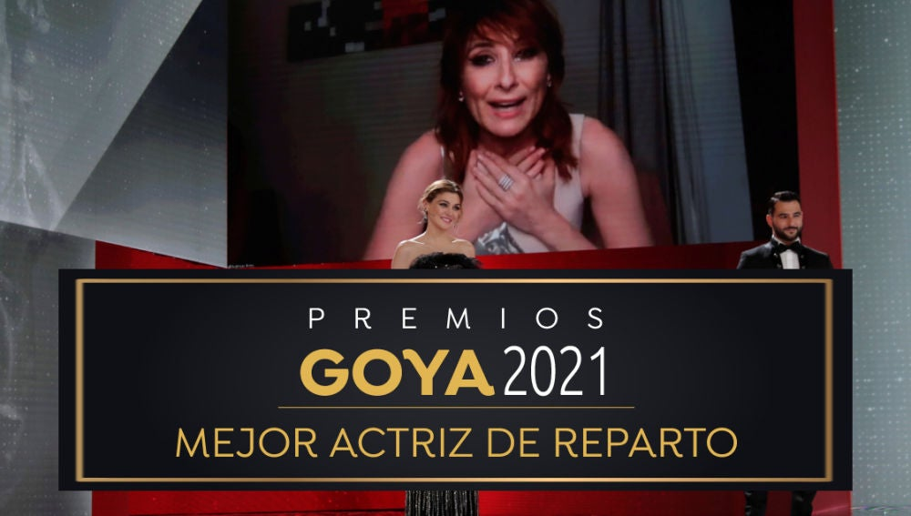 Premios Goya 2021: Nathalie Poza, mejor actriz de reparto por 'La boda de Rosa'